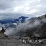 Aussicht vom Kraterrand