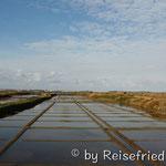 Salzgewinnungsbecken