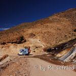 Unterwegs bei El Penon