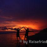 Abendstimmung an der Playa las Lajas