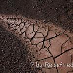 Trockenheit am Agua Negro