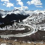 Auf dem Weg auf den Independence Pass
