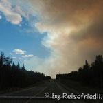 Waldbrände bei Fairbanks