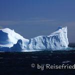Erste Eisberge in Sicht