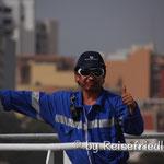Arbeiten im Hafen