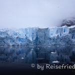 Skorntrop-Gletscher in Paradies Harber