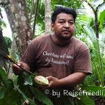 Führung in Juans Chocoladenfabrik