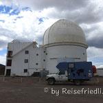 Observatorium im Parke Leoncito