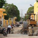 Nebenstrasse in Itzamal