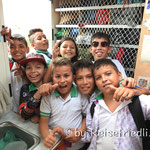 Schulklasse auf Besuch im Friedli