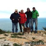 Cabo de San Antonio mit Peter und Margrit