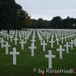 Amerikanischer Friedhof in der Normandie