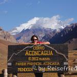 Aussichtspunkt am Aconcagua