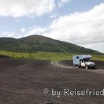 Anfahrt zum Cerro Negro