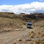 unterwegs zur Cueva de los Manos