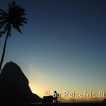 Zuckerhut im Sonnenaufgang