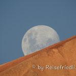 Der Mond geht auf im Valle Hermoso