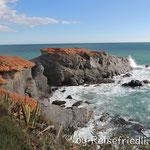 Klippen von  Cabo de Palos
