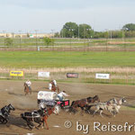 Chuck Wagon Racing in Saskatoon