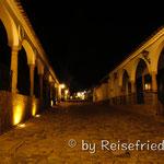 Villa da Leyva bei Nacht