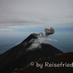 Aktiver Vulkan Fuego
