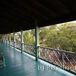 Unsere Veranda auf der Insel Uitila