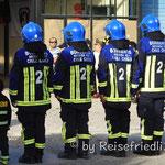 Feuerwehr in Chile Chico