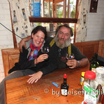 Zu Besuch in Rosaleda (Weingläser aus Gelterkinden)