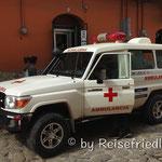 Friedlos Bruder arbeitet bei der Ambulanz
