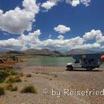 Übernachtungsplatz am Lago Caviahue