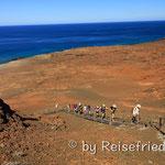 Wanderung auf den Vulkaninseln