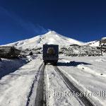 Unterwegs ins Skigebiet des Vulkan Villarica