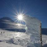 Schneeschuwandern am Vulkan Osorno