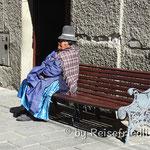 Vor dem Altersheim in La Paz