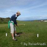 1. Golfversuche beim Pitch & Put