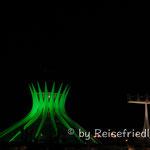 Brasilia bei Nacht