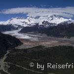 Gletscher im Valle Exporadores