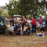 Spontanes Picknick mit Brasilianern