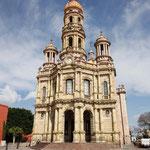 Kirche in Aquacalientes