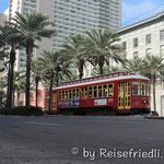 Strassenbahn in New Orleans