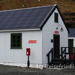 Poststelle in Grytviken in Südgeorgien