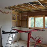 Rénovation plaquage Fermacell murs et plafond