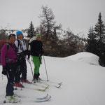 Greti, Margit und Maggie - Ladielike am Berg!