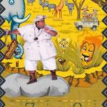コニシキカレンダー 『アフリカ』 7,8月