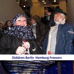 Andrea Weinke-Lau Eishockey Eisbären Berlin gegen Hamburg Freezers 4:7