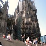 Andrea Weinke-Lau Die anderen Bilder Grabbild Porzellanbild Dienstreise nach Köln