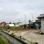6月24日工事初日午前終了