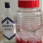 イスラウメ酒 ウォッカ&氷砂糖