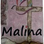 Marmor Mehl, Buch, Acrylfarbe, 50 x 70 cm. Sold
