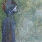 Acrylfarbe, 40 x 40 cm